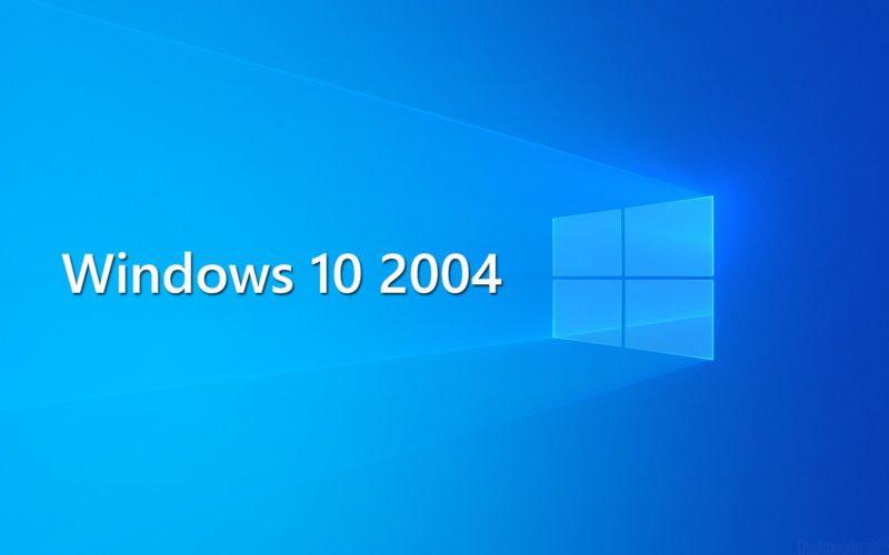 Windows 10 2004 Microsoft