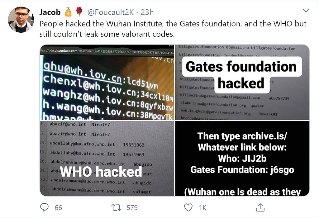 Bill Gates Foundation Hacking