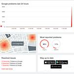 Google down:Η Google παρουσιάζει πρόβλημα σύνδεσης