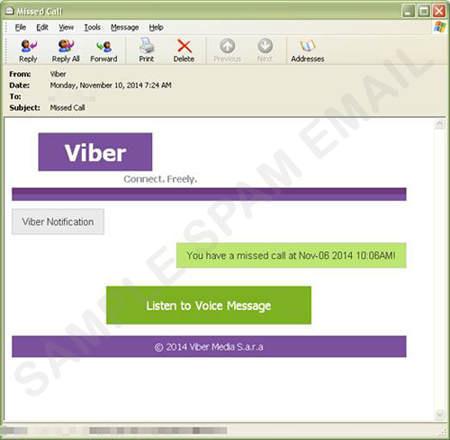 Viber Spam
