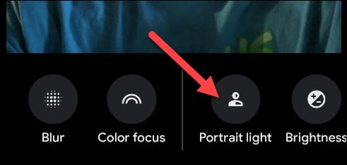 Portrait Light pixel