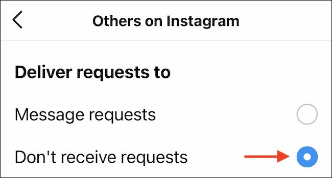 instagram μηνυμάτων