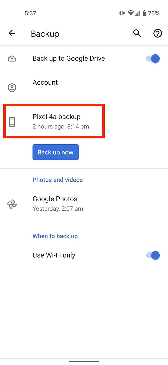 SMS Android backups κι επαναφορά