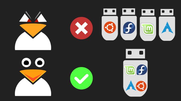 Δημιουργία ενός multiboot USB με την εφαρμογή Ventoy