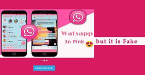 WhatsApp Pink malware