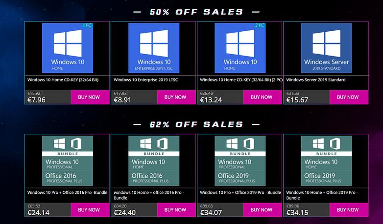 Best Deals - 11.11 Sales Storm: Windows 10 μόνο €5.55!
