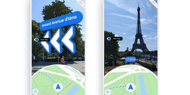 Google Maps: Η λειτουργία AR «Live View» βελτιώνεται!