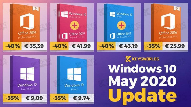 Windows 10 May 2020 Update: Αποκτήστε τα Windows 10 με €9.09