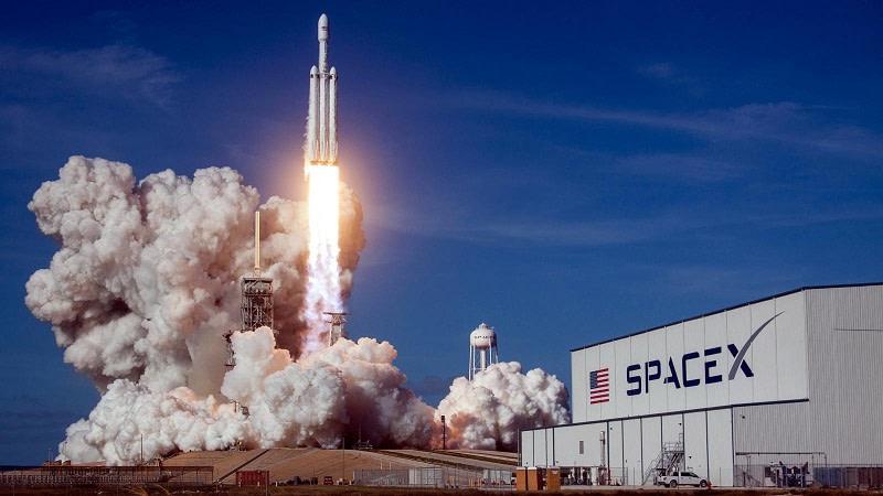 SpaceX δορυφόρους