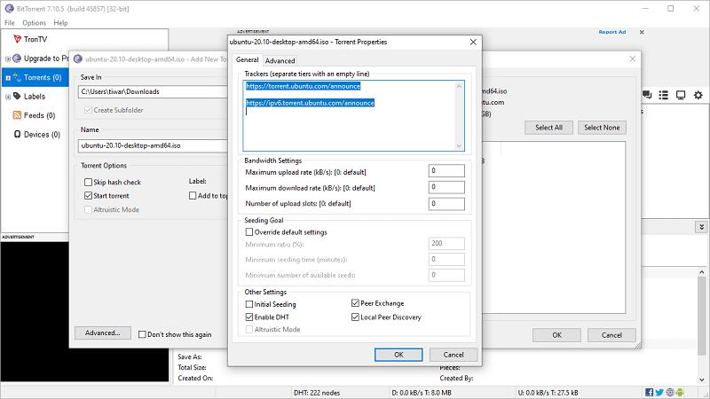 Κατεβάστε εύκολα και γρήγορα torrents σε Windows 10 και Android