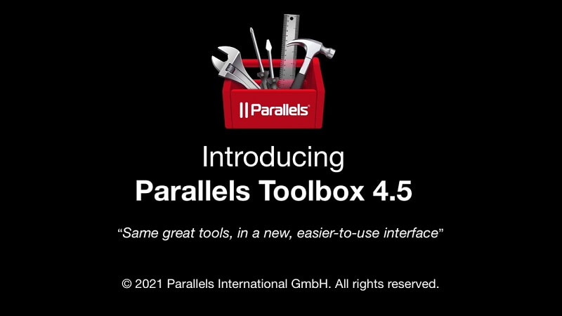 Parallels Toolbox 4.5