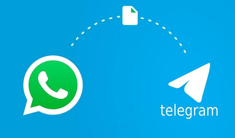Telegram 7.4 WhatsApp