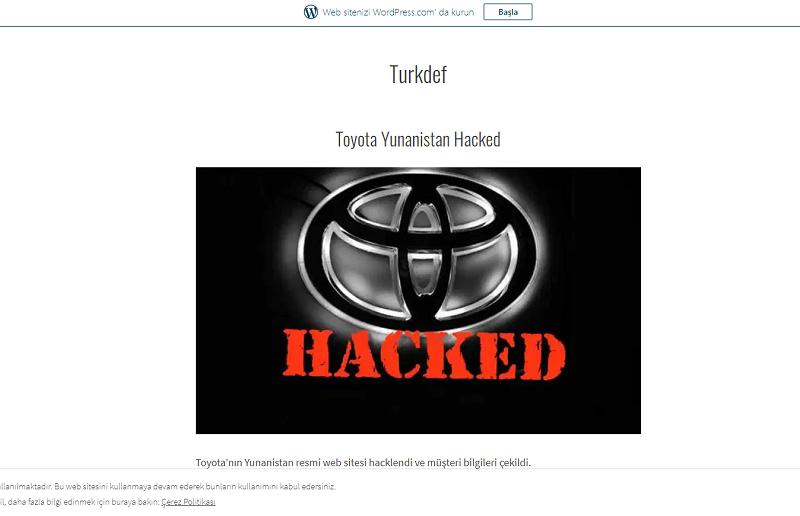 Turkdef Ops συνέντευξη Τούρκοι χακερ Ελλάδα