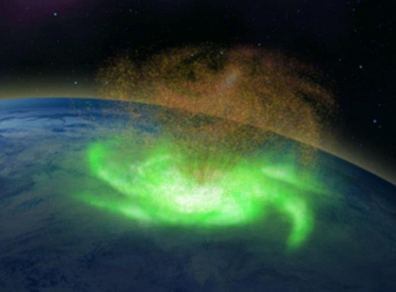 Εντοπίστηκε διαστημικός τυφώνας που «βρέχει» ηλεκτρόνια αντί για νερό!