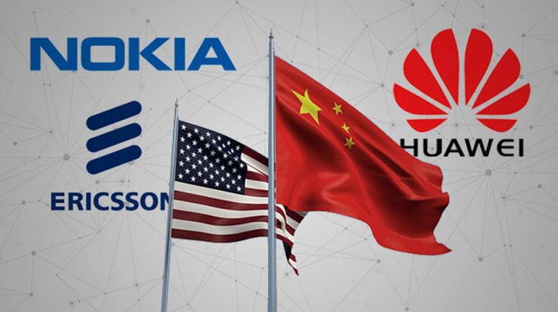 Κίνα-Huawei-Nokia-Ericsson