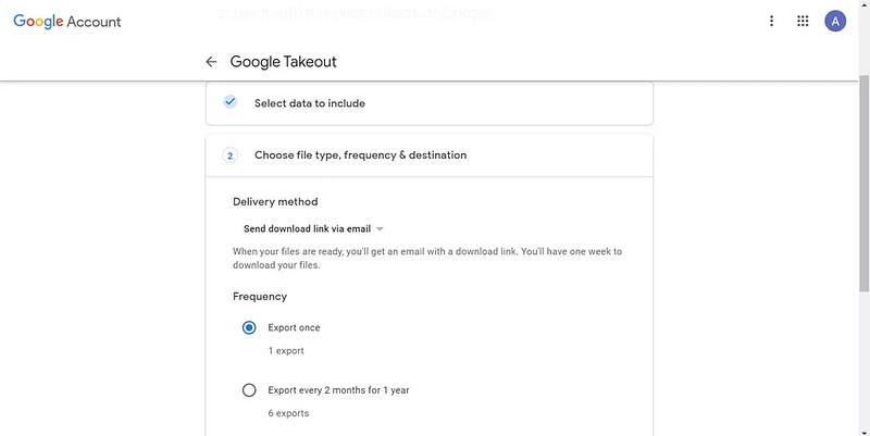 Gmail αντίγραφα ασφαλείας