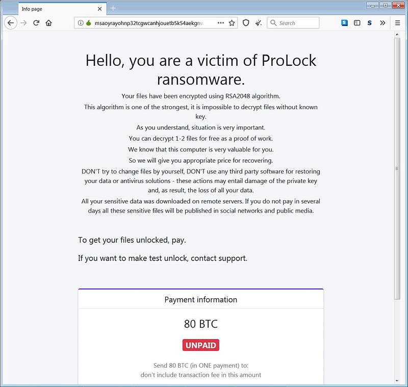 ransomware-ειδοποίηση