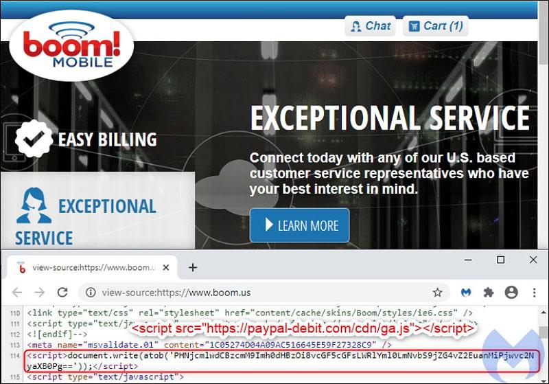 Boom! Mobile-παραβίαση site από Fullz House