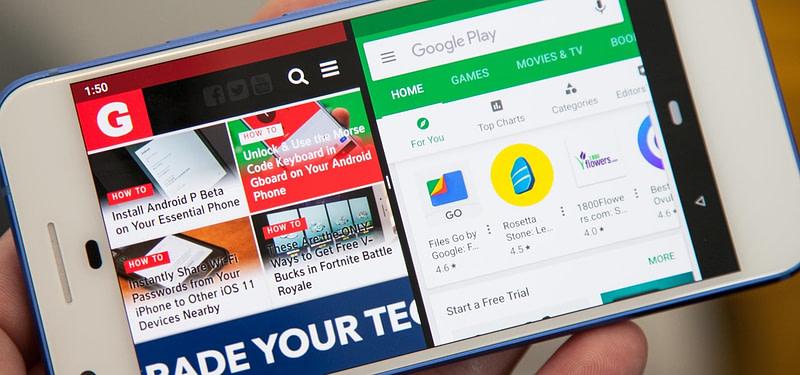 Πώς μπορείτε να χρησιμοποιήσετε τη λειτουργία Split Screen σε Android;