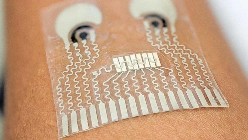 Επιστήμονες ανέπτυξαν έμπλαστρο που συλλέγει πληροφορίες για το σώμα μας