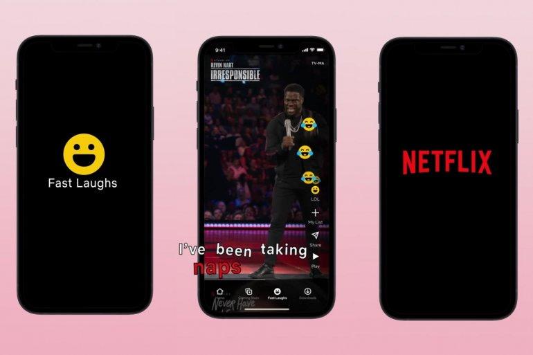 "Netflix: Η λειτουργία ""Fast Laughs"" παρέχει feed με βίντεο τύπου TikTok!"