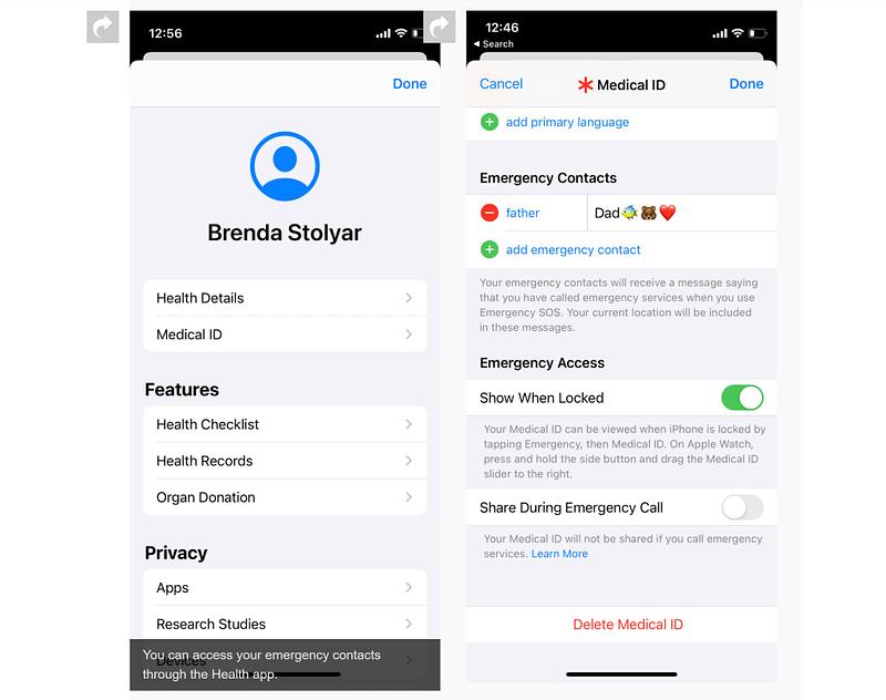 iOS 14.5 κλήσεις έκτακτης ανάγκης με το Siri