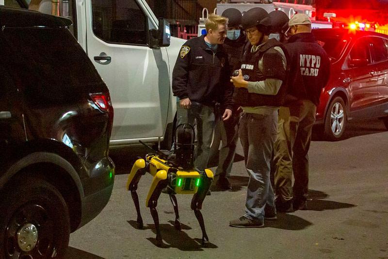 Ο σκύλος - ρομπότ αστυνομία