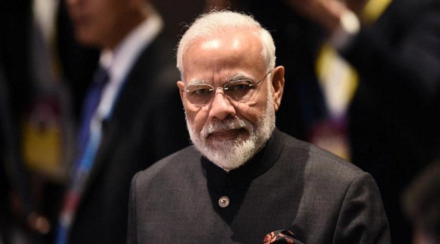 Twitter  Πρωθυπουργού της Ινδίας