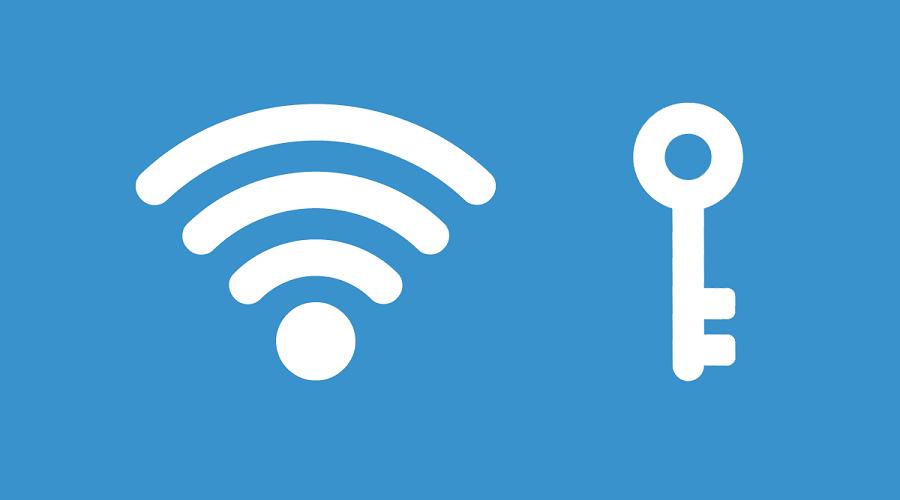 WiFi password Mac