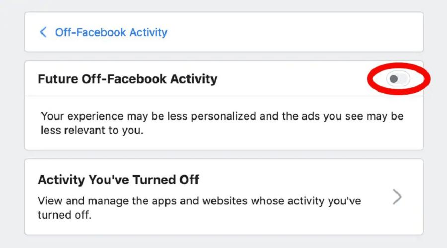 Facebook παρακολουθεί