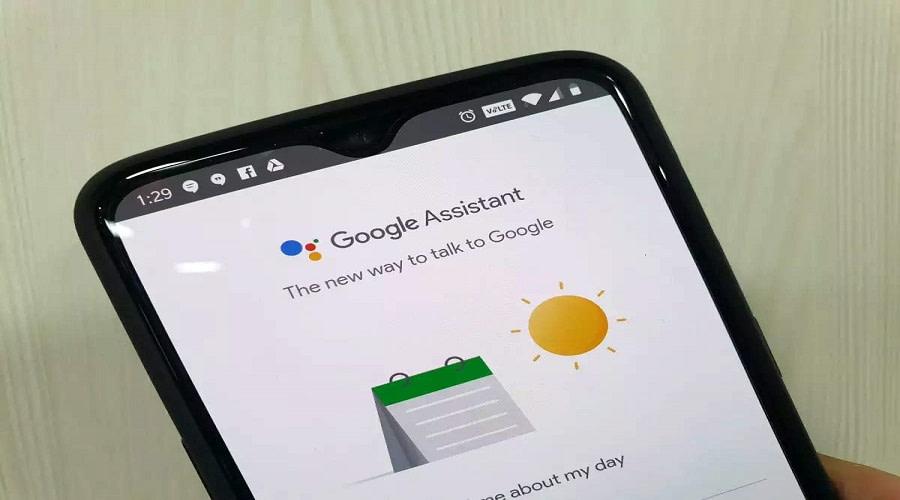 Google Assistant ηχητικά μηνύματα