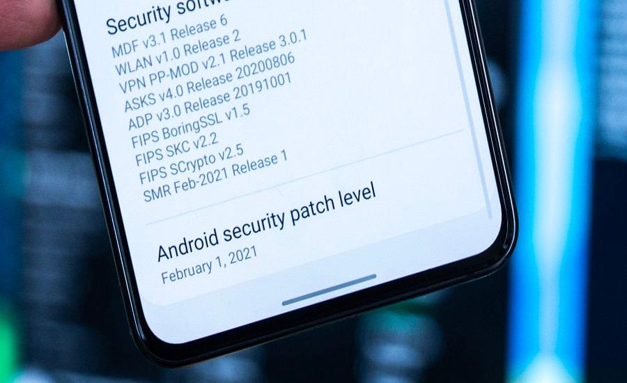 ενημερώσεις ασφαλείας κινητό