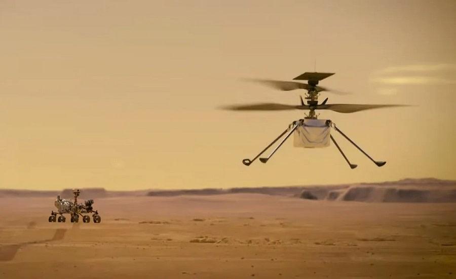 NASA ελικόπτερο