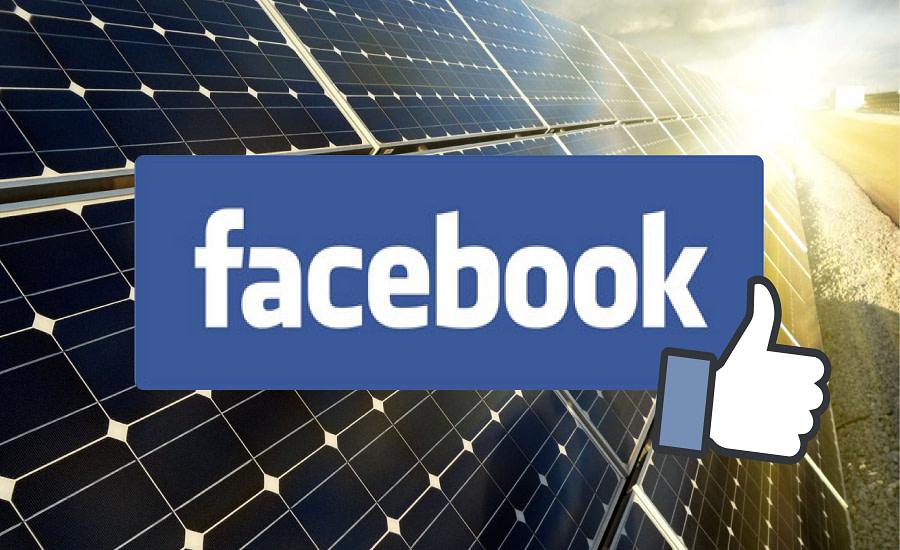 Facebook ανανεώσιμη ενέργεια