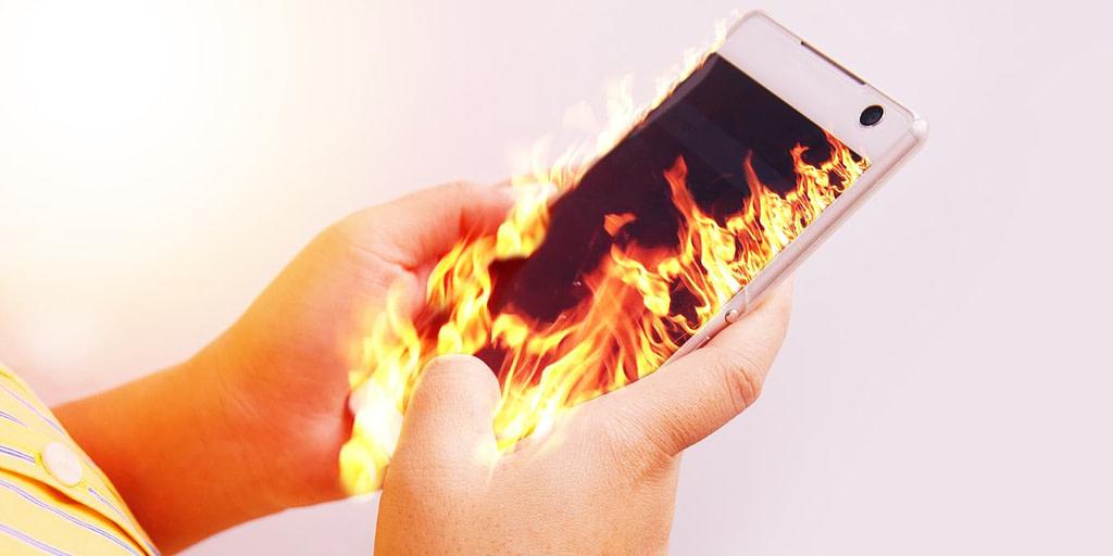 Υπερθέρμανση κινητού