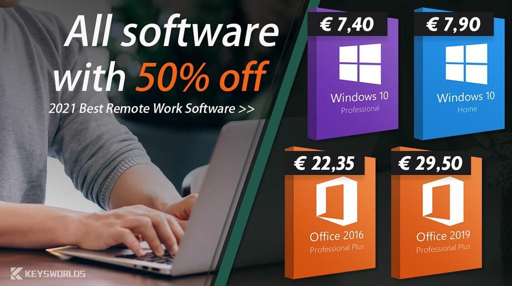 Θες αυθεντικά Windows 10 keys από 7.40€; Δες εδώ!