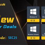 Αυθεντικά Windows keys με 13€ και πολλές ακόμα προσφορές