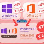 Γιορτή της Γυναίκας: Women's Day Sale Office 2019 και Sale Window 10 με 26€