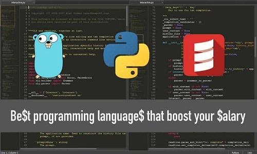 Αυξήστε το μισθό σας με τρεις γλώσσες: Python, Go και Scala!