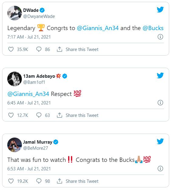 Γιάννης Αντετοκούνμπο NBA Finals 2021