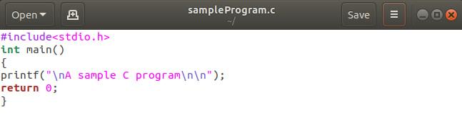 πρόγραμμα σε C Linux