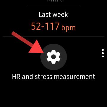 Samsung Galaxy Watch - μέτρηση καρδιακού ρυθμού