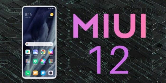 MIUI 12: Xiaomi models