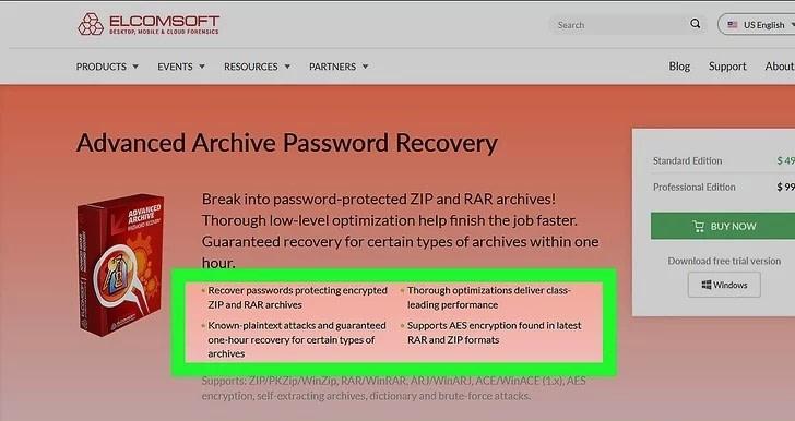 Πως να βρούμε τον κωδικό πρόσβασης ενός ZIP αρχείου;