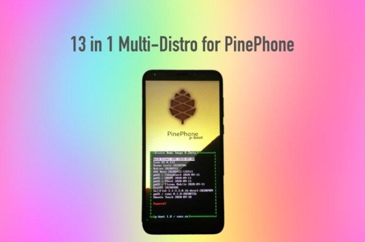 Κυκλοφόρησε νέα Pinephone διανομή με 13 λειτουργικά συστήματα