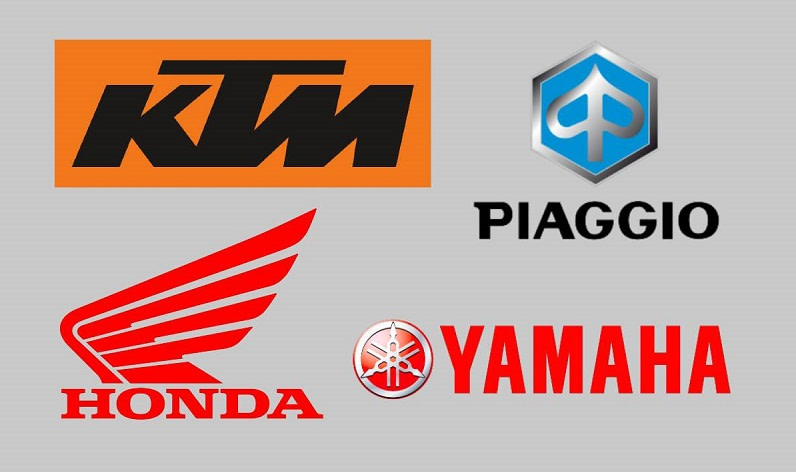 Honda, Yamaha, KTM και Piaggio