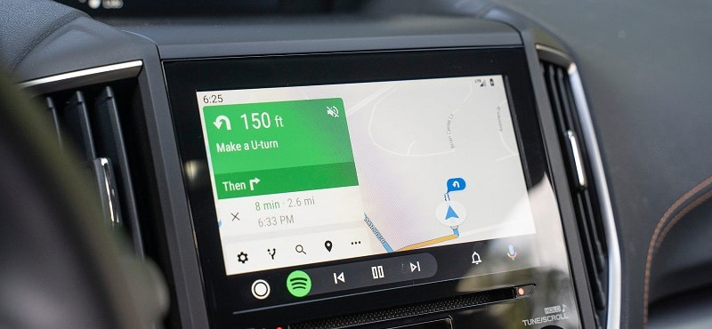 Android Auto Google Maps