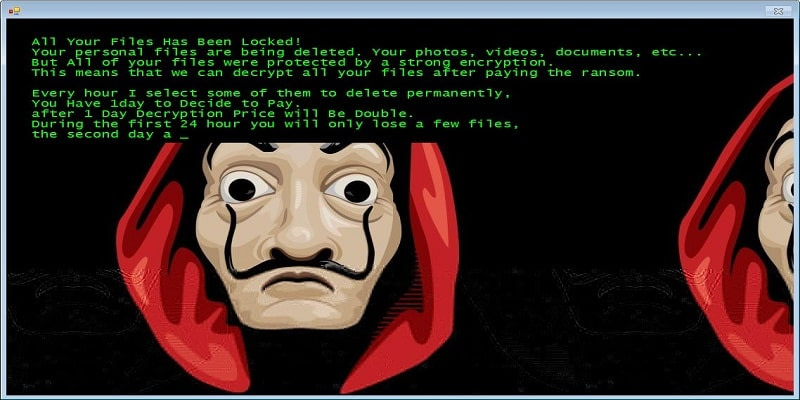 Ransomware phishing εκστρατεία