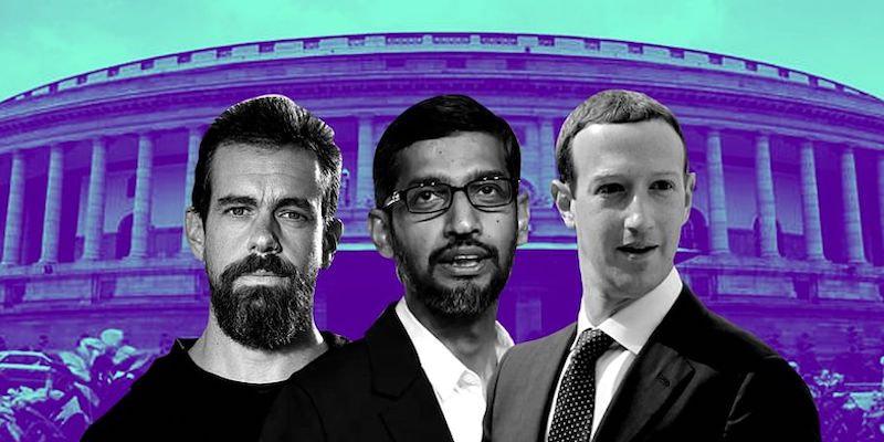 CEO Google, Facebook, Twitter