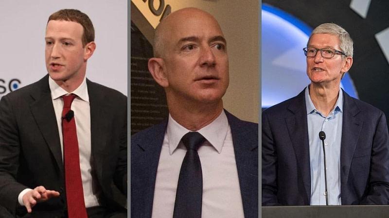 Amazon, Facebook, Apple-tech giants - logins χάκερς
